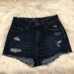 BDG Urban Outfitters Jean Shorts high raise 25